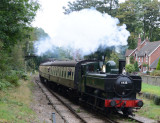 6435 arriving at Crowcombe.Heathfield