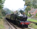 7828 Odney Manor arriving at Crowcombe Heathfield
