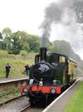 1450 arrives at Crowcombe Heathfield.
