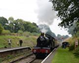 7828 Odney Manor arrives at Crowcombe Heathfield.