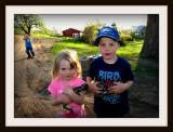 The Kids & Baby Emus
