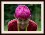 Sam's Pink Hair