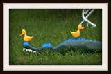 Two Brave Ducks