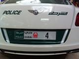 Dubai Police Bentley