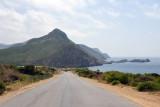 Algerian coastal road headed towards Madagh