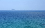 The Habibas Islands 10 km offshore - probably some great scuba diving out there