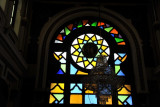Stained glass window, Grand Hotel Cirta