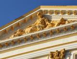 Pediment sculpture of the Bank d'Algérie, Constantine