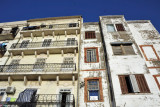 Old buildings along Boulevard Youcef Zighoud