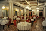 The dining room of the Grand Hotel Cirta - a place for a cold beverage