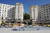 A small plaza behind the Grand Hotel Cirta