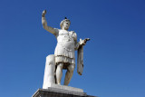 Constantine destroyed the ancient city of Cirta in 311 AD - the city was rebuilt and renamed after the emperor