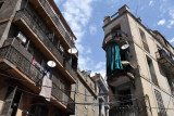 Old City of Constantine - balconies and satellite dishes