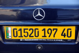Algerian License Plate