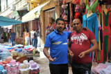 Algerian men in the market, Tlemcen