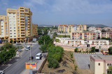View of the new area in northwest Tlemcen from the Ibis Hotel