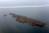 Island in Frobisher Bay 10 km out from the runway at Iqaluit
