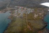 The village of Apex, just south of Iqaluit on the shore of Frobisher Bay