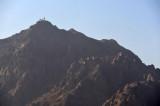 Mountain overlooking Medina Airport