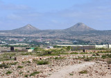 Leaving Hargeisa to the north along National Highway 1, you pass Naasa Hablood, Virgin's Breat Mountains