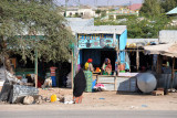Ethiopia Fast shop stall across from the gas station