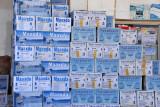 Maaxda and Saxansax bottled water, Somaliland