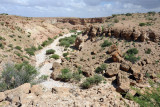 Passing by a smaller wadi