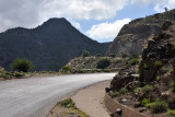 Somaliland Highway 2 in the mountains before Sheikh