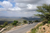 Viewpoint along Somaliland Highway 2 around 10 km prior to Sheikh