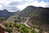 Somaliland Highway 2 climbing up towards Sheikh