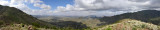 Panorama from the scenic viewpoint, Somaliland Highway 2