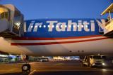 Arrival in Tahiti on Air Tahiti Nui from LAX