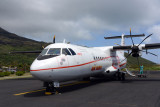 Air Tahiti operates 7 of these ATR72s as well as 2 ATR42s and several smaller aircraft