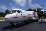 Air Tahiti ATR72 (F-OIQV), Bora Bora