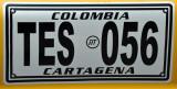 Colombia taxi, Cartagena