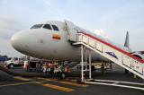 Avianaca A320 in Star Alliance livery (N454AV)- Cartagena
