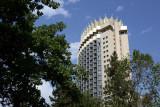 Hotel Kazakhstan, a 1970 Soviet construction, Almaty