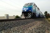 Southbound Sounder train