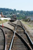 Freight cars and a missing siding
