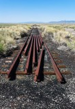 Abandoned nevada northern track (looking northeast)