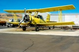 Former crop duster disperses a new cargo
