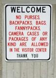 Security demands precautions