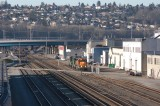 Locomotive movements at Interbay