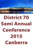 :: 2015 Semi Annual Conference 2015 ::