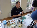 Alain working on styrene