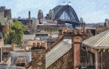 Sydney Harbour Bridge from Rocks