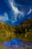 Narrabeen pond with polariser