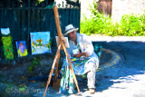 Painter in Giverny - an impressionist view