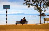 Couple at Kaiterteri, New Zealand