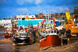 Boats at Southend